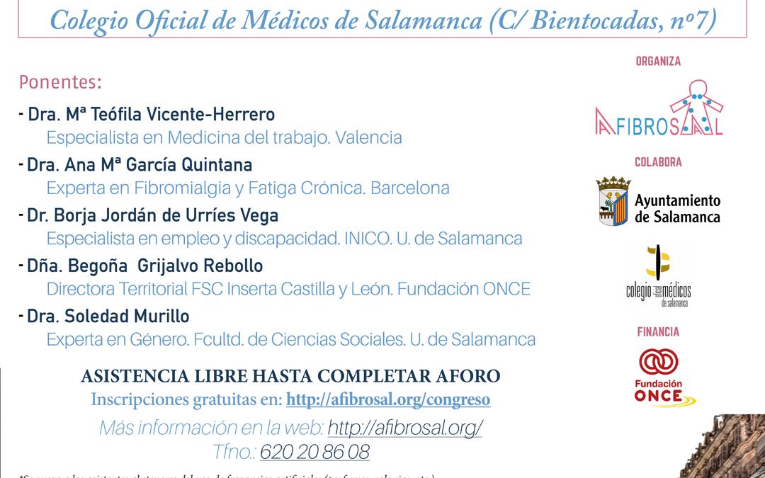 Conferencias del Congreso Multidisciplinar Fibromialgia y Síndrome de Fatiga Crónica