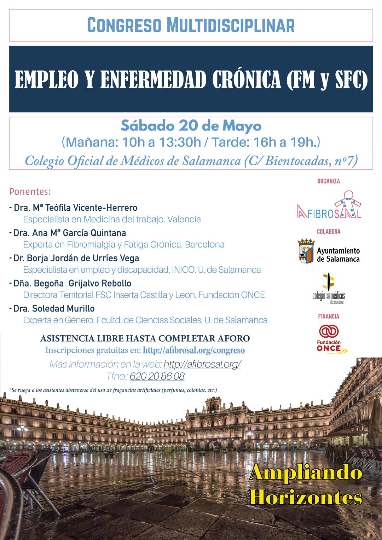 Congreso Multidisciplinar de Empleo y enfermedad Crónica (FM y SFC)