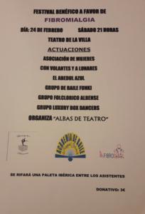 Festival benéfico a favor de Fibromialgia