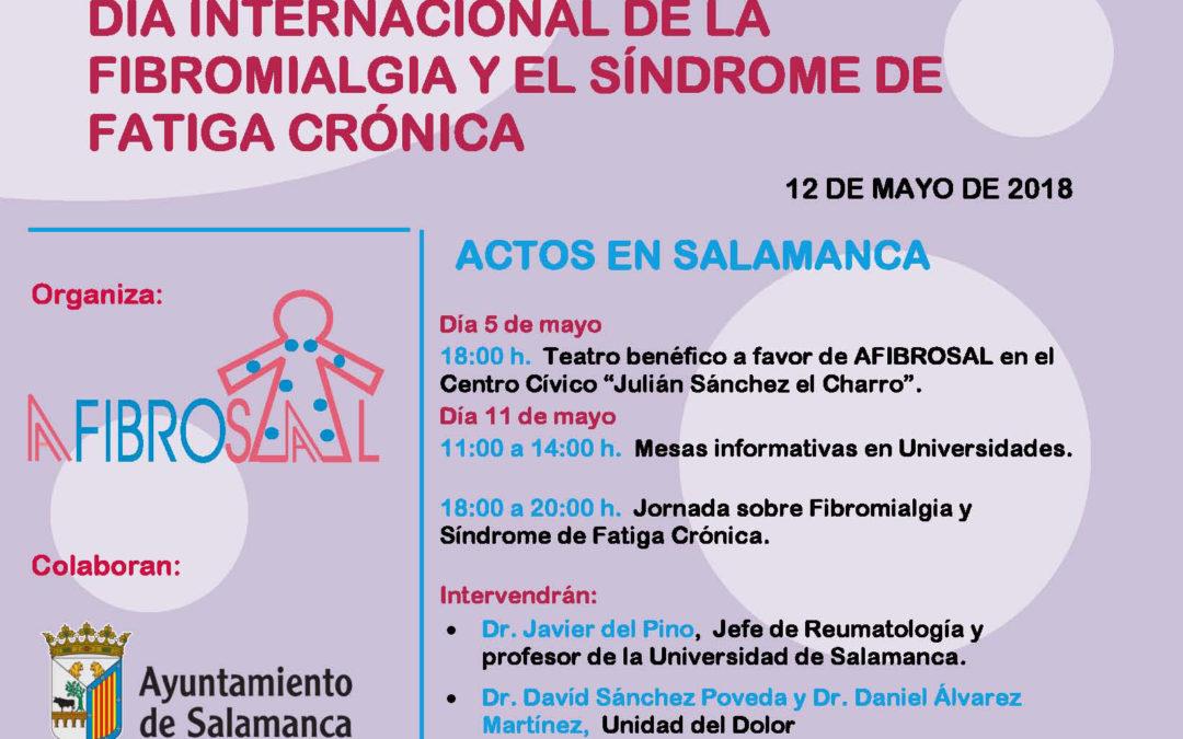 Día Internacional de la Fibromialgia y el Síndrome de Fatiga Crónica