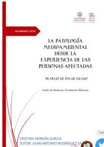 Trabajo de Fin de Grado de Cristina Hernán García