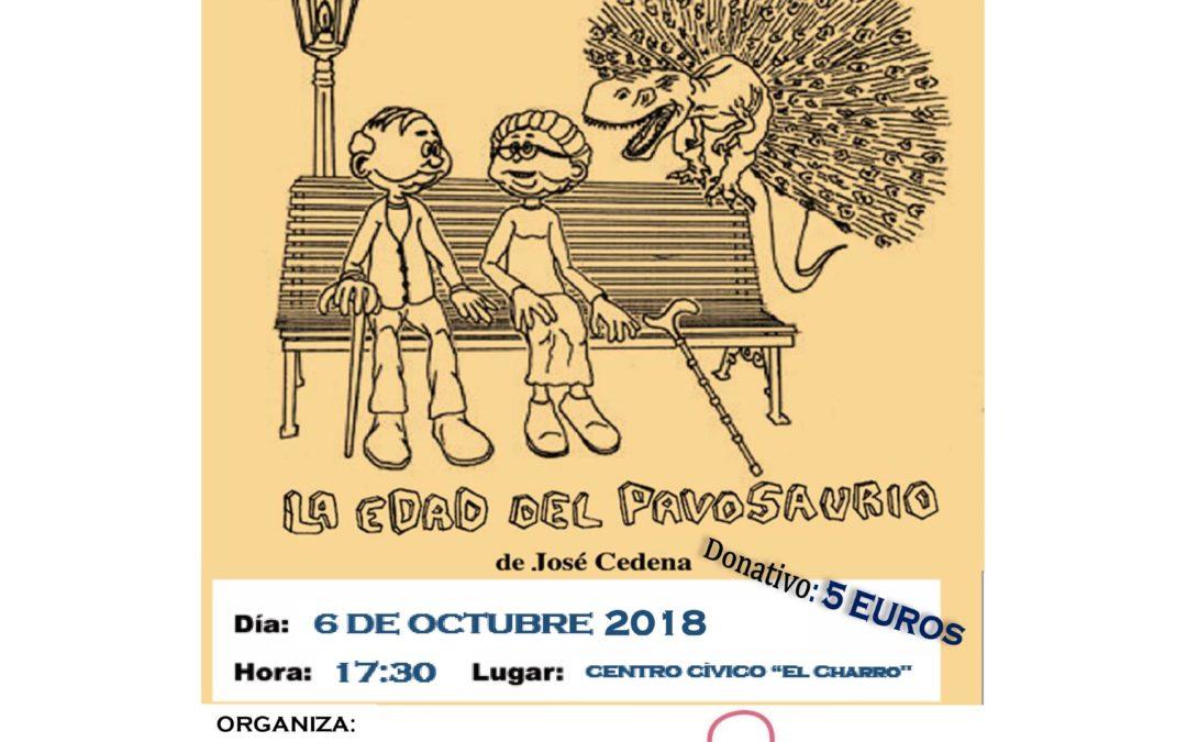 """Teatro solidario: """"LA EDAD DEL PAVOSAURIO"""""""