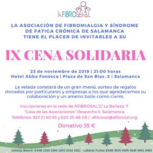 IX Cena Solidaria