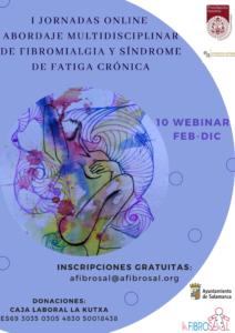 I Jornadas online Abordaje Multidisciplinar de Fibromialgia y Síndrome de Fatiga Crónica