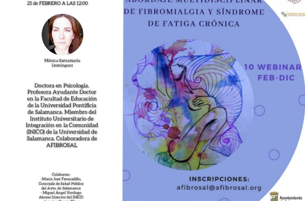 """I Webinar """"Afrontamiento del dolor"""""""