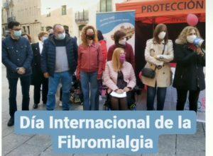 Actos por el Día Internacional de la Fibromialgia y el Síndrome de Fatiga Crónica.
